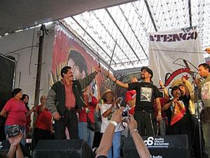 "Atenco Resists Festival: ""12 Prisoners, 12 States"" Tour Closes"