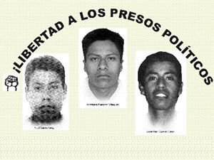 The political prisoners of Santiago Xanica: What do they want? Freedom!