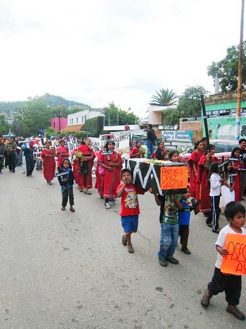 Comunicado de MUJERES EN RESISTENCIA del municipio autónomo de San Juan Copala