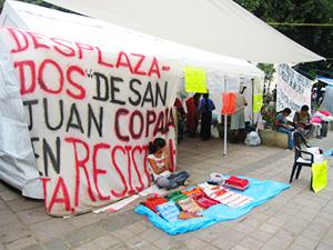 San Juan Copala planton