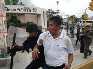 Protest over the Liberation of the Torturers of Emeterio Marino Cruz