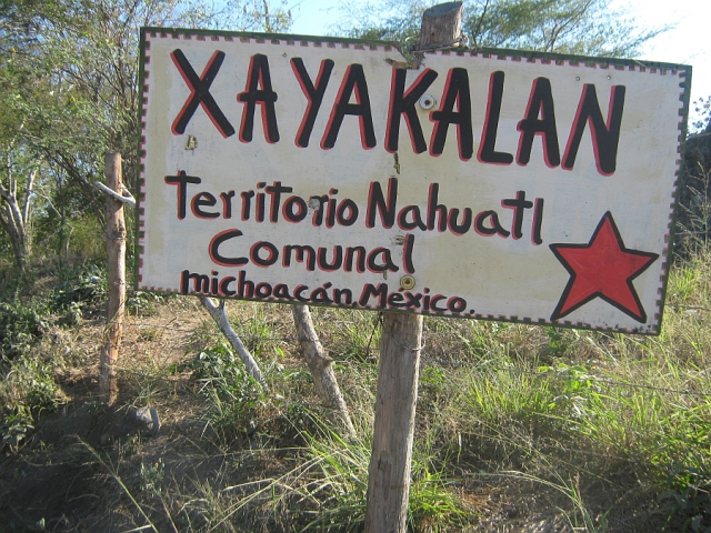 "Xayakalan, Santa María Ostula: ""Nobody's going to move us out of here"""
