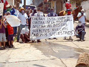 "In Cherán ""we got fed up with keeping our heads down"""