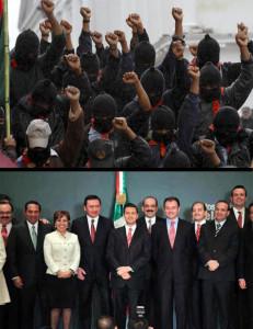 Zapatistas y Gabinete