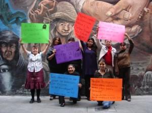 Mujeres Atenco mural