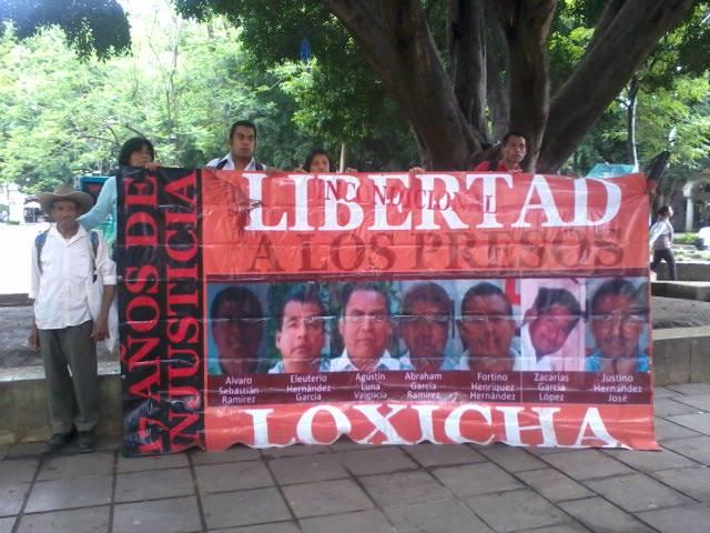 Libertad a los presos Loxicha