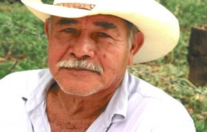Don Senovio, a key force in the resistance to the Paso de la Reina Dam