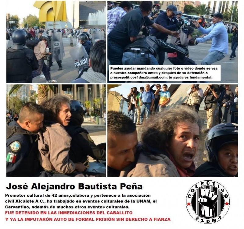 Alejandro Bautista arrest