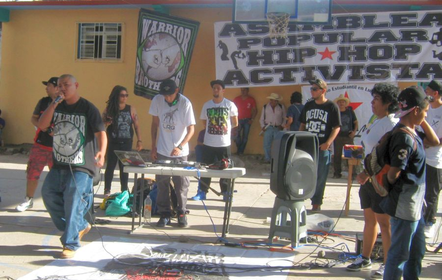 Activist Hip Hop for Ayotzinapa