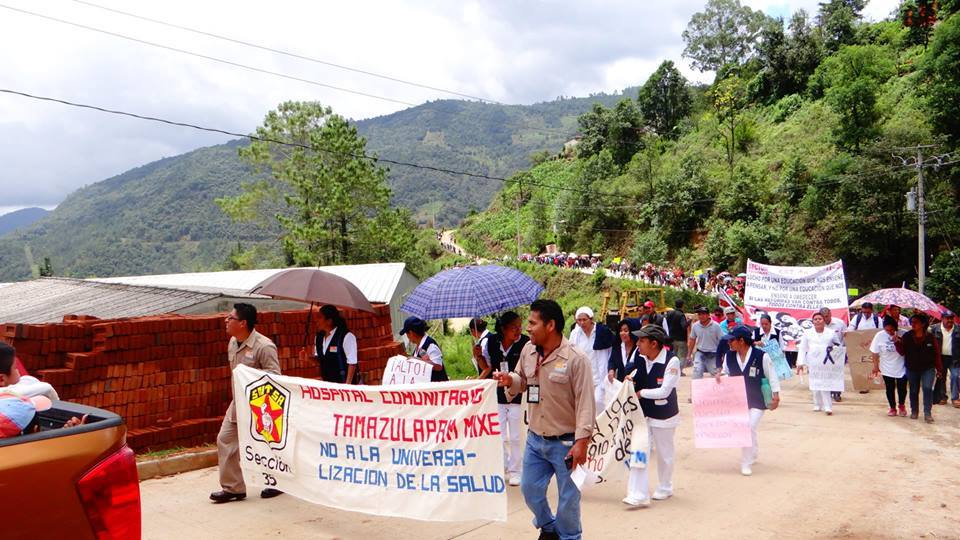 "Oaxaca 2016: ""This is not a teachers struggle, it belongs to the people of Mexico"""