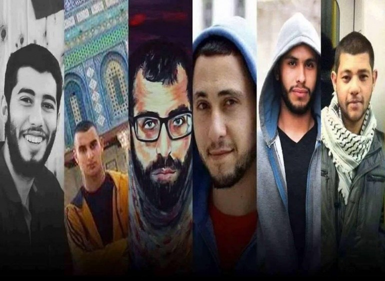 Take Action: Demand freedom for 6 Palestinian prisoners in Palestinian Authority jails on hunger strike