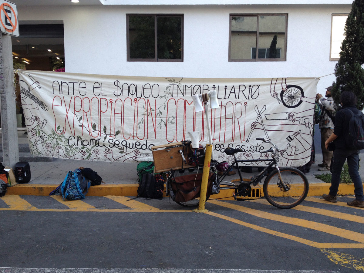 Chanti Ollin, Okupa Desalojada, Hace Una Llamada Para La Solidaridad